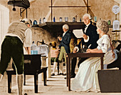 Lavoisier Chemistry Laboratory, 18th C