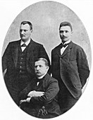 Andree, Fraenkel and Strindberg, Swedish Explorers