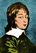 Young Christiaan Huygens, 1640