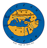 World Map, 500 BC