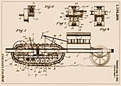 C.L. Best Crawler Patent, 1916
