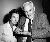 Mary and Louis Leakey, 1962