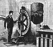 Electrotachyscope, Animated Picture Machine, 1889