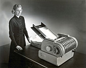 Pitney Bowles Electric Folding Machine