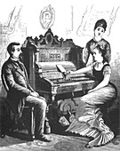 Gally's Self-Playing Musical Instrument, 1879