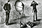 Photophone Receiver, Bell and Tainter, 1881