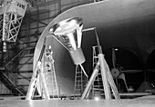 Full-Scale Tunnel, Mercury Spacecraft, 1959