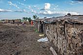 Maasai Village, Maasai Mara, Kenya