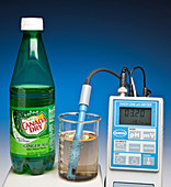 pH of Ginger Ale