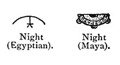 Pictogram Comparison, Night