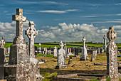 Kilmacduagh Monastery Tombstones, Gort, Ireland