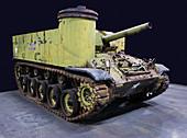 M37 105mm Medium Self Propelled Howitzer US Army