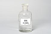 Bottle of Sulfuric Acid