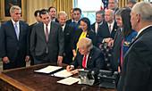 President Trump Signs 2017 NASA Authorization Act