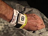 Patient with Medical Alert Bracelet