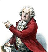 Comte de Mirabeau, French politician