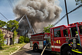 Fire fighting, USA