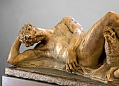 Sculpture of the dying Adonis