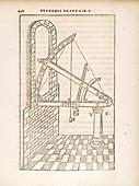 Tycho Brahe's astronomic sextant, 17th century