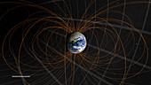 Earth's magnetosphere, illustration