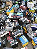 Car lead acid batteries