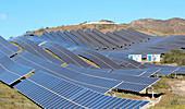 Solar farm, Sierra Alhamilla, Almeria, Spain