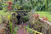 Lava tube tourist attraction, Hawaii