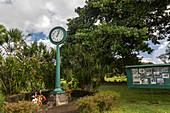 Tsunami stopped clock memorial, Hawaii