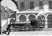 Discovery of electricity in steam, 1841