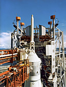 Apollo 11 spacecraft pre-launch test, 1969