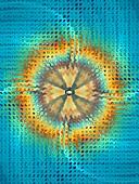 Fractal circular abstract