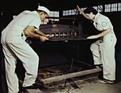 WWII, Cutting Machine Workers, 1942
