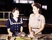 WWII, Pearl Harbor Widows, Naval Air Base, 1942