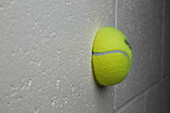Tennis Ball Colliding with a Wall