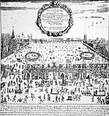Thames Frost Fair, Little Ice Age, 1683