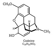 Molecular Structure of Codeine