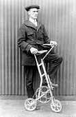 Unusual Bicycle, 1920