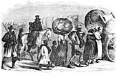 American Civil War, Contrabands, 1865