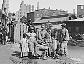 American Civil War, Contraband Camp, 1865