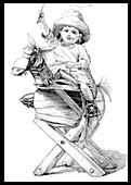 Rocking Horse, 1887