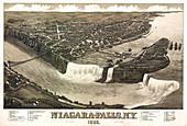 Niagara Falls Tourist Map, 1882