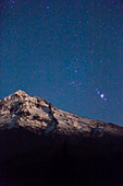 Mt Hood and Belt of Orion