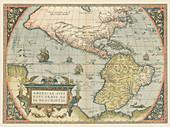 Theatrum Orbis Terrarum, The New World, 1570