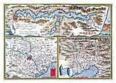 Theatrum Orbis Terrarum, Regions of Italy, 1570