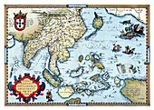 Theatrum Orbis Terrarum, India, 1570