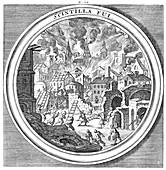 Meteorologia, Wind Sparks Fire, 1709