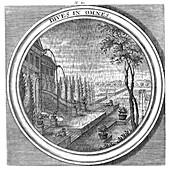 Meteorologia, Rain, 1709