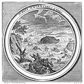 Noah's Ark, The Great Flood, 1709