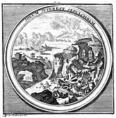 Meteorologia, Volcano Erupting, 1709