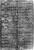 Colossus Showing Q Panel, 1945